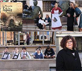 Representación teatral de La Memoria de los Topos en Castellón