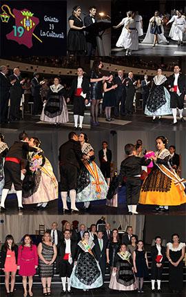 Presentación Gaiata 19 La Cultural, fiestas de la Magdalena 2015 de Castellón