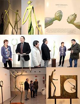 Señales en el vacío, esculturas de Sonia Cardunets en Benicàssim
