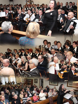 Los residentes de Residencial Castellón pudieron disfrutar del concierto de la coral CEAM AVENIDA DEL MAR