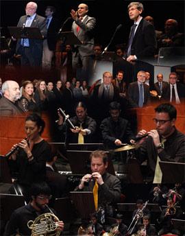 Concierto de percusión, metal y dolçaina en el Teatro Principal