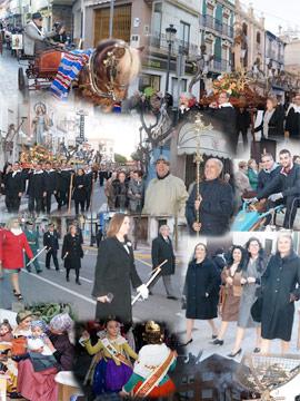 Benicàssim honra a Sant Antoni con una procesión