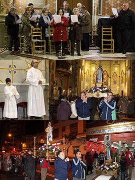 Procesión en Castellón en honor a San Antonio