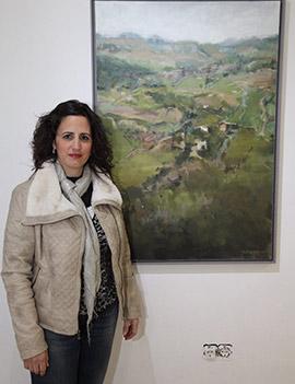 Cristina López presenta por primera vez su obra en Castellón