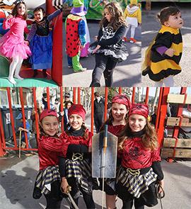 Benicàssim celebra un desfile de disfraces infantil