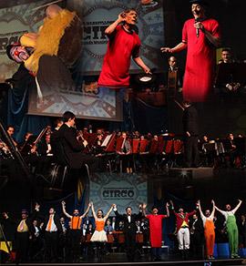 El Maravilloso Mundo del Circo en el Palau de la Festa de Castellón