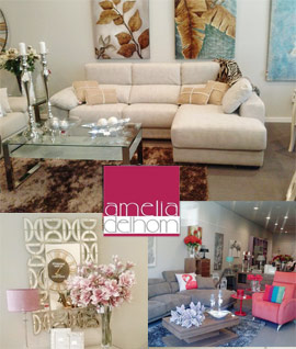 Amelia Delhom llena de estilo y buen gusto su tienda de mobiliario y decoración