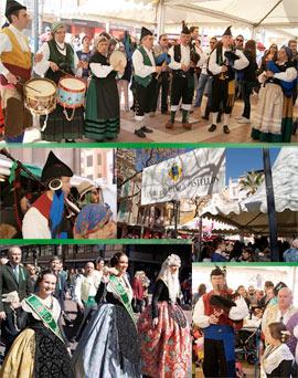 Como cada año en las fiestas de la Magdalena, el Mesón Asturiano en la Plaza Tetuán