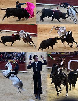 Corrida de rejones de la Feria de la Magdalena 2015 en Castellón