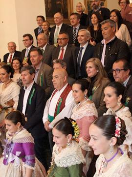 Reconocimiento oficial a las empresas colaboradoras en las fiestas de la Magdalena 2015