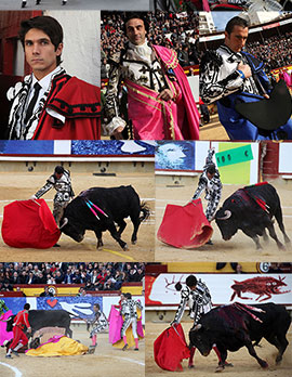 Corrida de toros goyesca Magdalena 2015