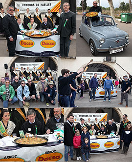 Concurso de paellas en la ermita  San Jaime de Fadrell Magdalena 2015