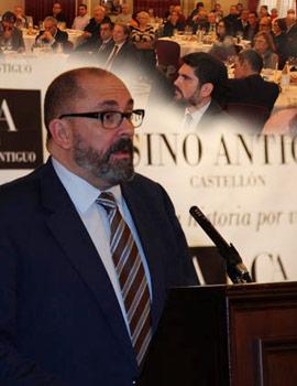Enric Nomdedéu en los desayunos del Casino Antiguo