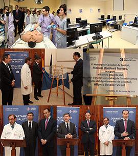 Inauguración del edificio docente del Hospital General Universitari de Castelló