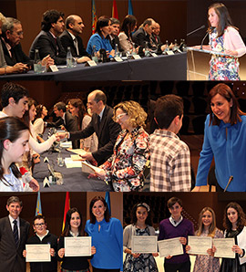 Entrega de los Premios Extraordinarios al Rendimiento Académico en Educación Primaria en Castellón
