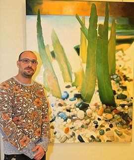 Exposición de Óscar Lázaro: Lo más cercano, el paisaje
