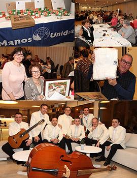Chocolatada Solidaria a favor de Manos Unidas en el hotel NH Mindoro de Castellón