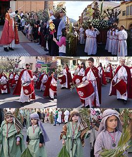 Benicàssim celebra el Domingo de Ramos con procesión y misa