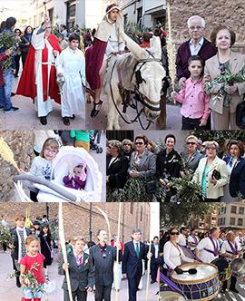 Procesiones del Domingo de Ramos en Castellón