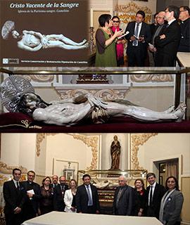 La Diputación de Castellón restaura la imagen del Cristo Yacente de La Sangre