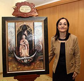 Presentación del cartel que anuncia las fiestas en honor a la Virgen del Lledó de Castellón