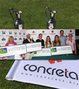Gran Exito de la I Race to the OPEN by Concreta en el Club de Campo Mediterráneo