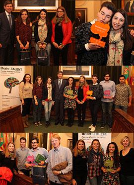 Entrega de los I Premios Jóvenes Talentos Brain&Talent en Castellón