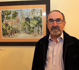 La Luz de Castellón, exposición del pintor Julián González Lomo