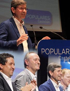 Acto de presentación de Alfonso Bataller como candidato a la alcaldía de Castellón