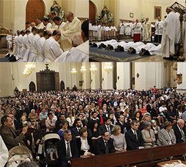 Ordenaciones sacerdotales en la Concatedral de Santa María de Castellón