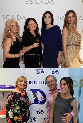 Escada y Boutique D2 de Vila-real celebran sus aniversarios