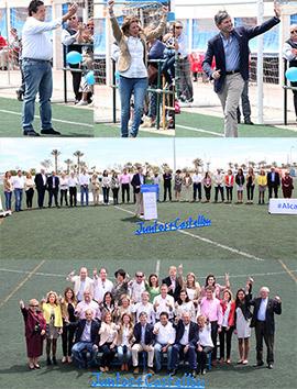 Alfonso Bataller presenta a los miembros de su candidatura