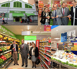 Reapertura del cuarto supermercado Dialprix en Castellón