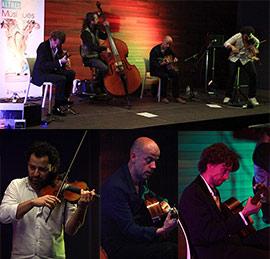 Concierto de Menilmontant Swing en el ciclo Altres Músiques de Benicàssim