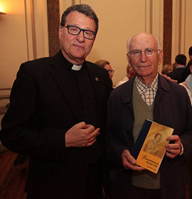 Conferencia del prior Mn. Josep Miguel Francés sobre la imagen de la Virgen del Lledó
