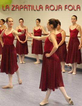 2ª prueba de nivel para los exámenes de Royal Academy of Dance en La Zapatilla Roja Fola