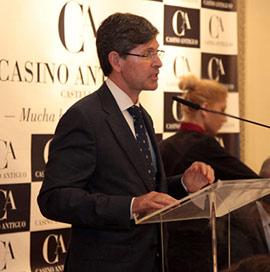 Bataller en la clausura del ciclo ´Desayunos con...´ del Real Casino Antiguo de Castellón
