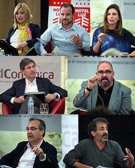 Debate entre los candidatos a la alcaldía de Castellón
