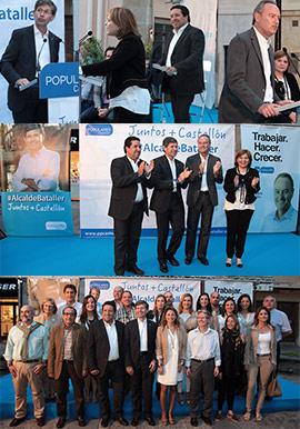 Inicio de la campaña electoral del Partido Popular de Castellón