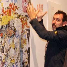 Carteles pegados, exposición fotográfica de Vicente Pla Martí en Benicàssim