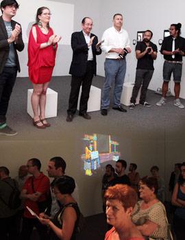 Inauguración de la exposición de Hábitat Artístic Castelló 2014/2015