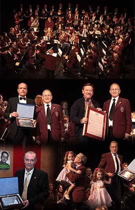 Homenaje a José Gargori y Paco Orts  por sus 50 años en la banda de la Unió Musical Castellonenca
