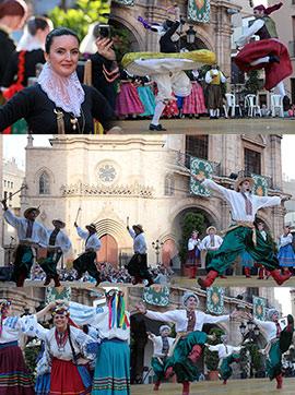 XXXII Festival de Danses de l´Antiga Corona d´Aragó en Castellón