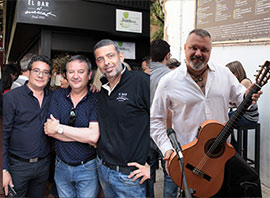 Actuación  de Keko en el Bar del Mercat de Castellón
