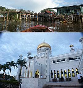 Vuelta al mundo sabrosa, top 5 visitas de Brunei