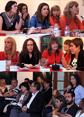 Debate con representantes de los principales partidos políticos de Castellón