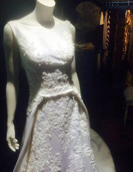 Vestidos de novia de Higinio Mateu en su espacio Avanna Madrid