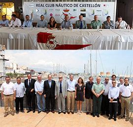 Presentación de la XIX Regata Costa Azahar de Castellón