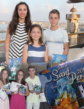 Presentación del 'llibret de festes' de Sant Pere del Grao de Castellón