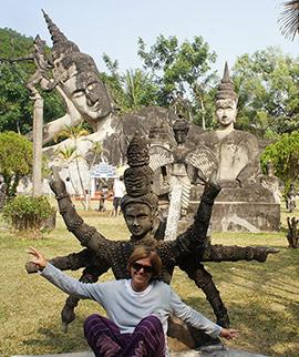Vuelta al mundo sabrosa en Laos